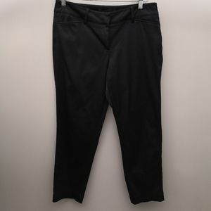 Zac & Rachel Petite Polished Black Dress Trouser